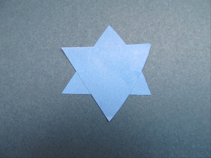 Glue them together to make a small star