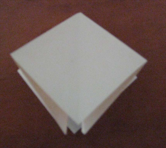 Origami Square Base - YouTube | 623x700