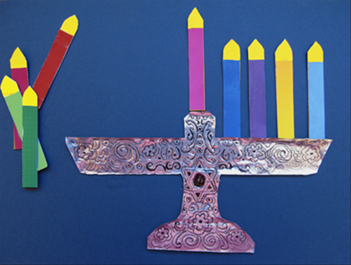 Toys For Hanukkah : How to make a menorah fridge magnet toy for hanukkah