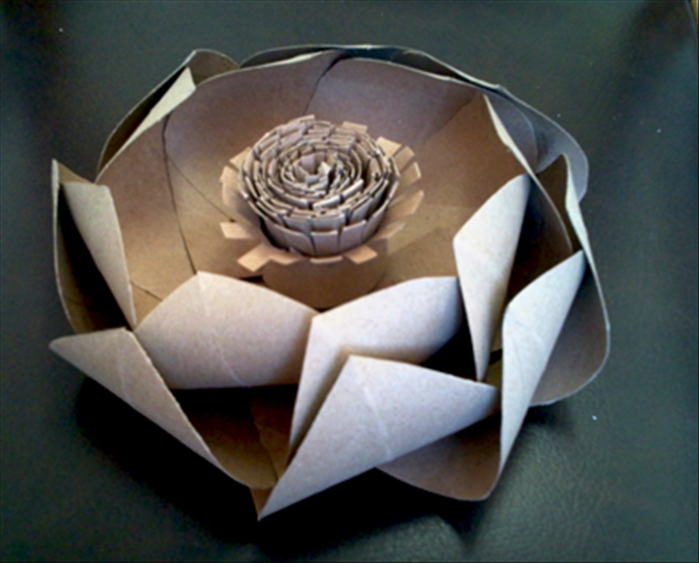 How to make large lotus flowers from toilet paper rolls mightylinksfo