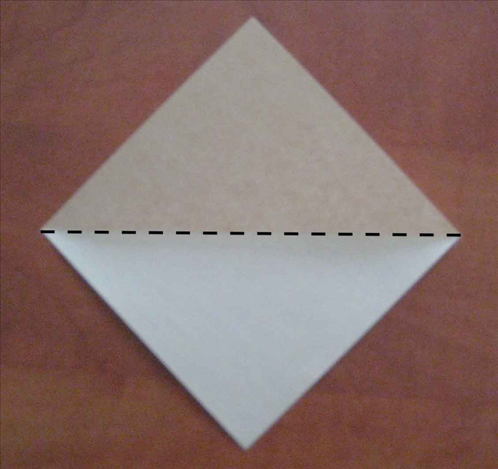If you know how to fold a square base then skip to step 8