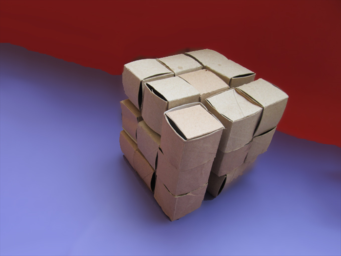 <p> That's it!</p>  <p> Have fun figuring how to put them together to make a cube!</p>   <p> Do you want a guide for the solution?</p>   <p>  </p>