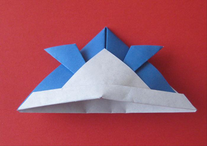 Origami Samurai Hat Stock Illustrations – 4 Origami Samurai Hat ... | 495x700