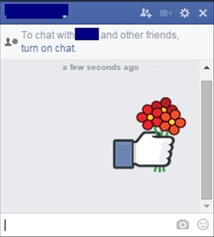 <p> You can send the message with just the sticker or you can also write something in the text box.</p>