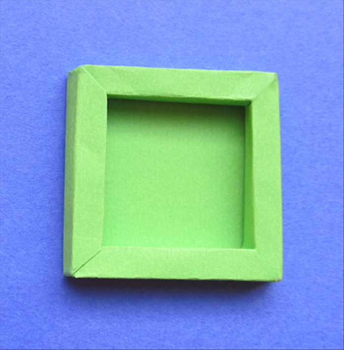 How to make a shadow box, a 3d frame, from paper or cardboard