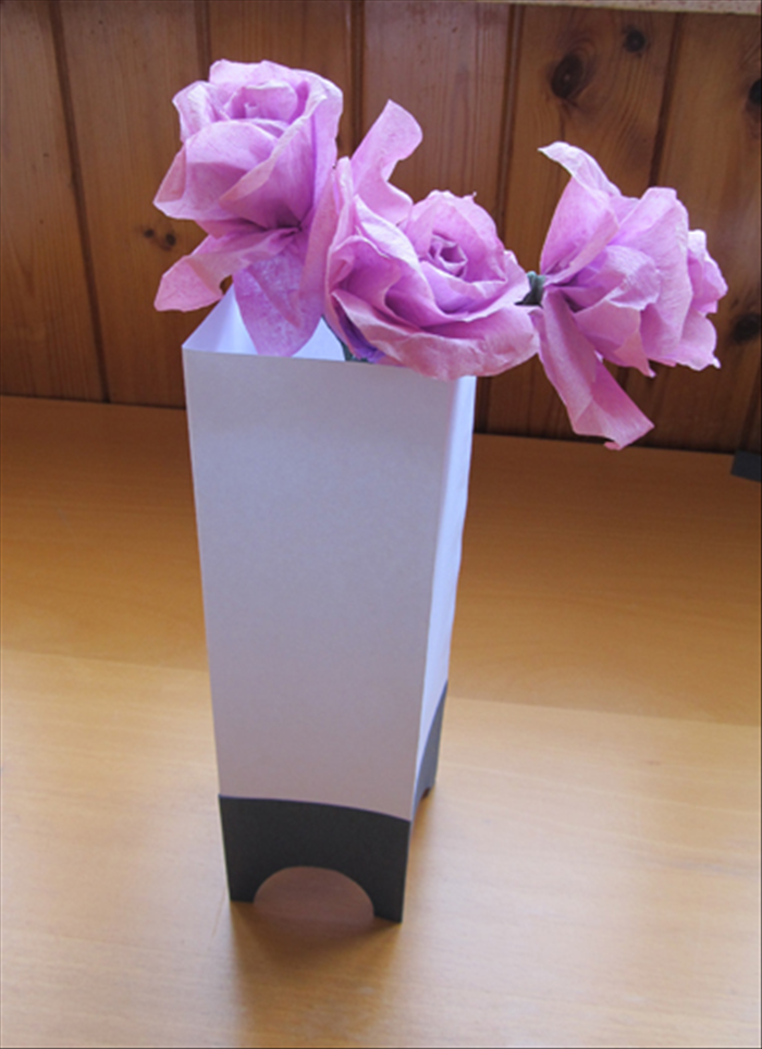 How To Make A Paper Vase