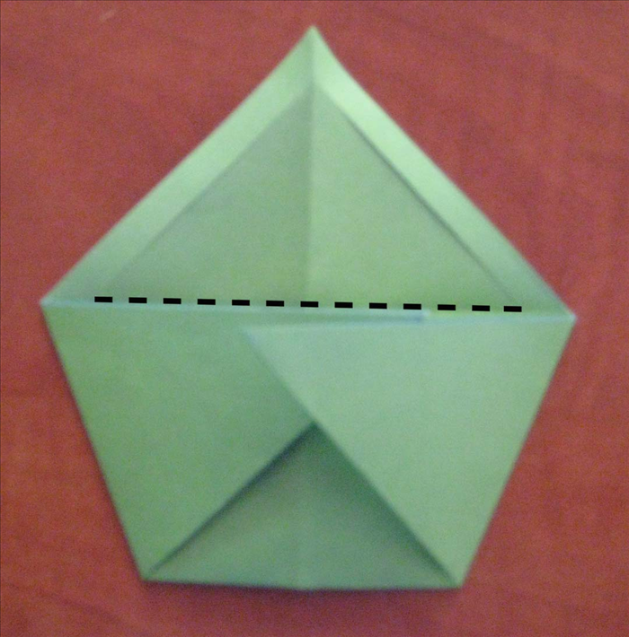 Unfold the the last fold.