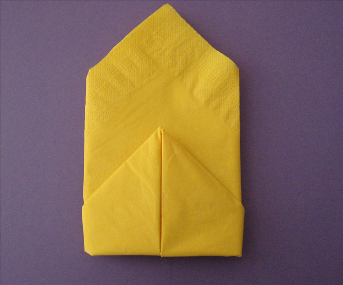 Easy Origami Birthday Cake Instructions