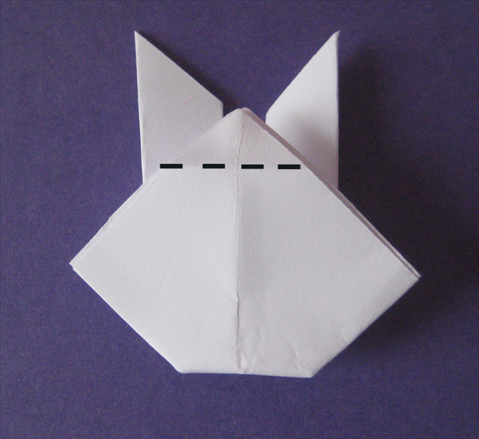 Flip the paper over to the back side.