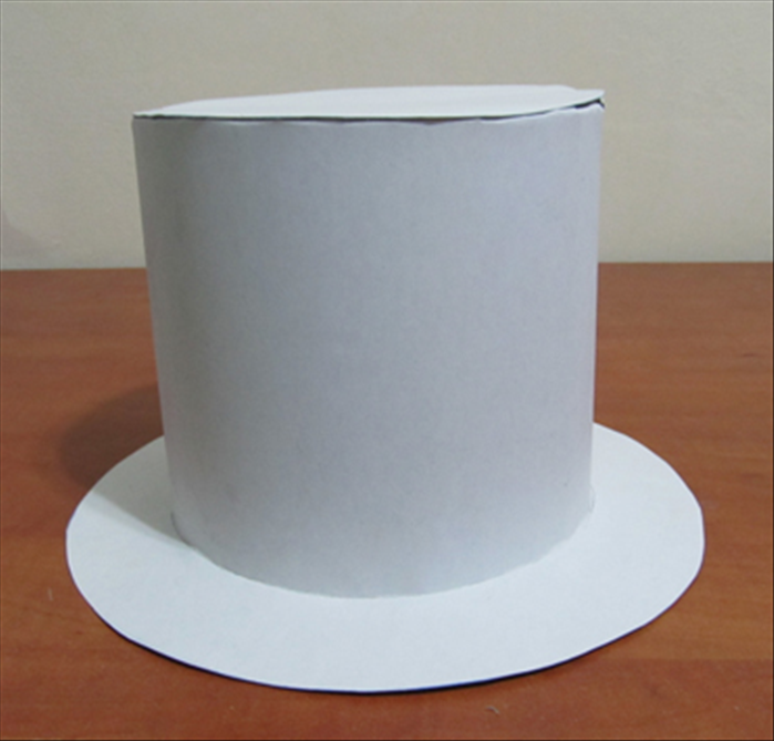 How to make a cardboard top hat for Top hat template for kids