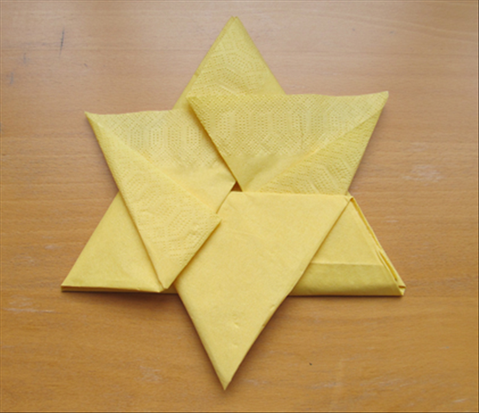 5 origami napkin folds