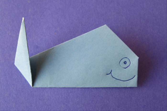 Your Origami Whale Is Finished