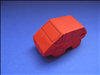 How to make paper cars from a square piece of paper
