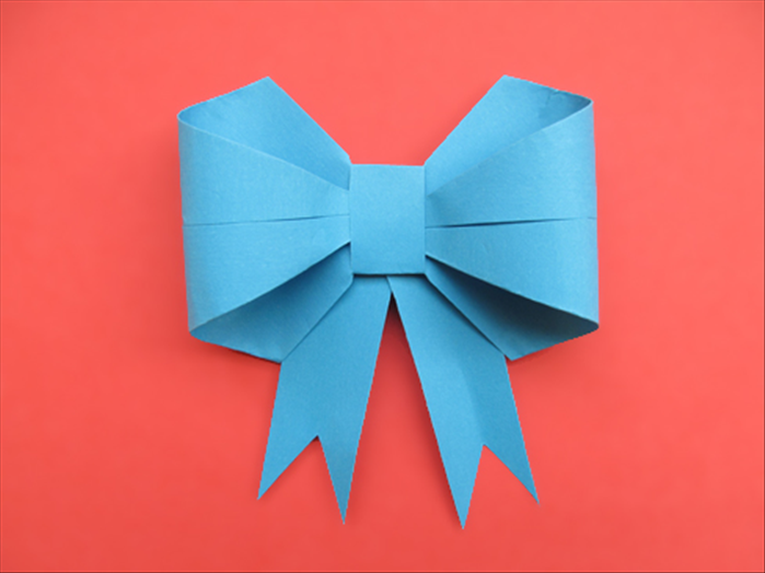 How To Make An Origami Bow Adapted For Children