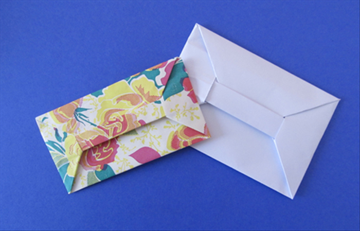 How To Fold An Origami Bar Envelope