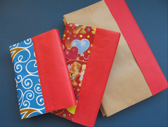 How To Wrap A Book Cover In Paper : How to cover books and help your children find the