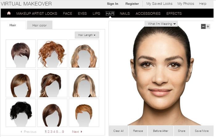Astounding Free Virtual Hair Colour Upload Photo Hairstyle Short Hairstyles Gunalazisus