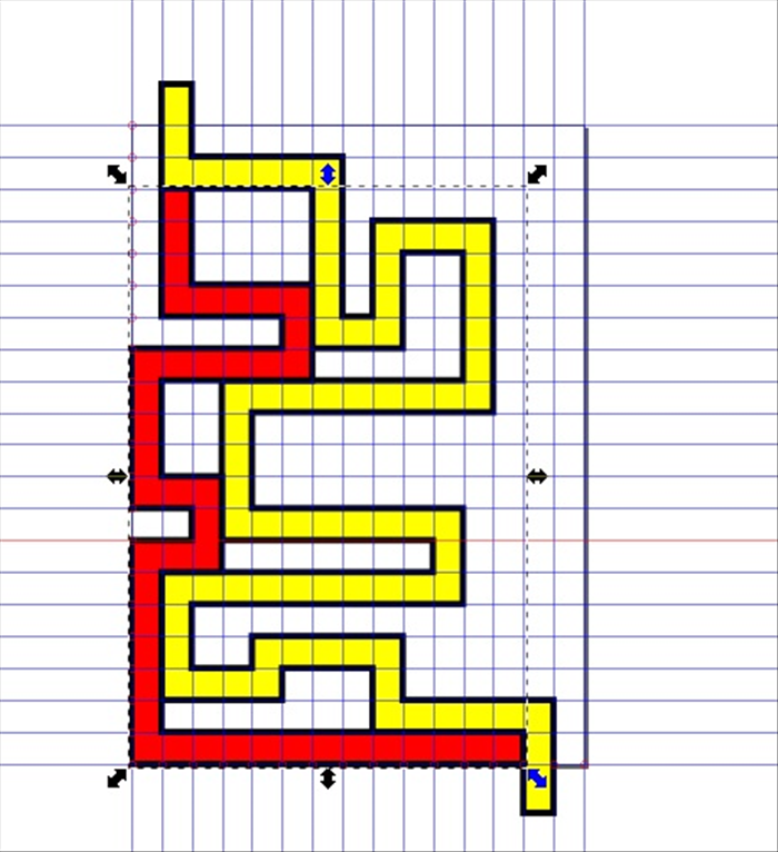 <p> 11. Click Path - Object to Path and then Path - Union  </p>