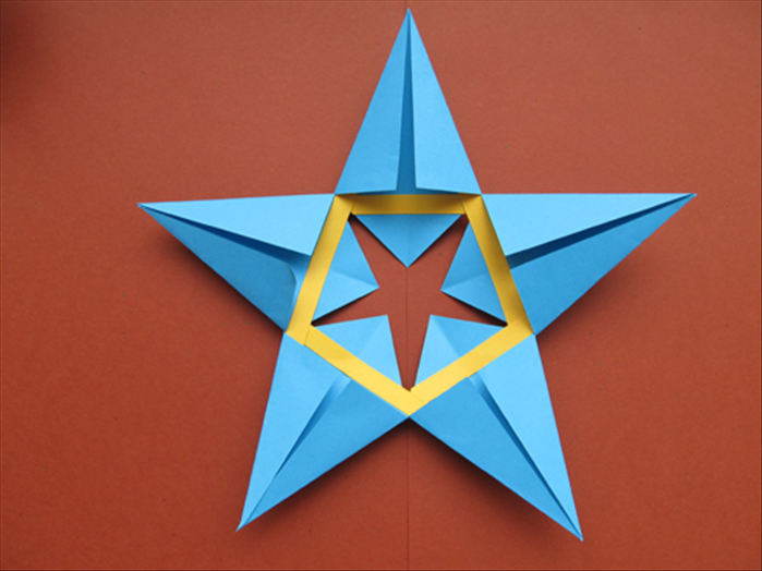 How To Make A 5 Pointed Star From Paper