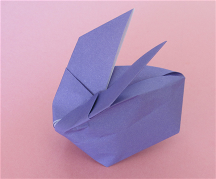 How To Fold An Origami Inflatable Bunny