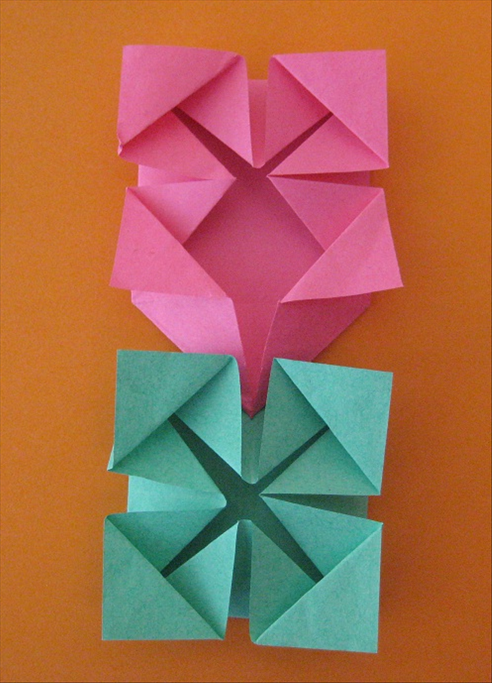 How To Make An Origami Picture Frame And A Photo Album