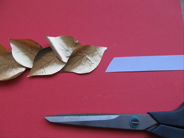 how to make a roman laurel a crown of leaves