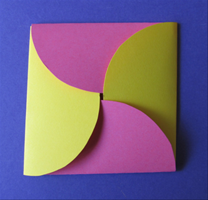How To Make An Envelope From Circles